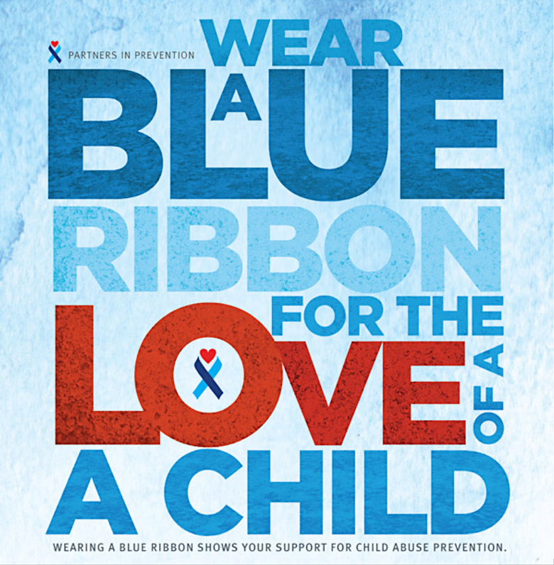 Wear a Blue Ribbon