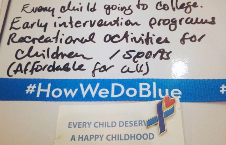#HowWeDoBlue
