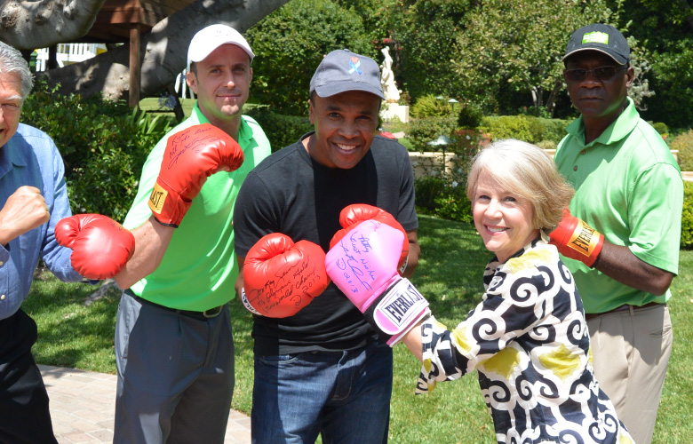Partnering with Sugar Ray Leonard to say ENOUGH!