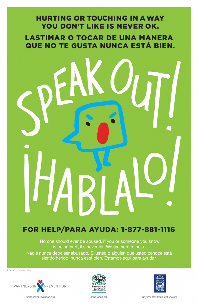 Speak Out Hablalo Poster