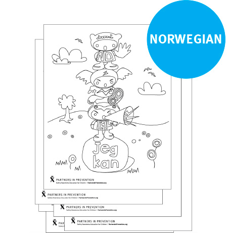 Coloring Pages - Norwegian
