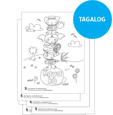 Coloring Pages - Tagalog