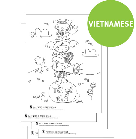 Coloring Pages - Vietnamese