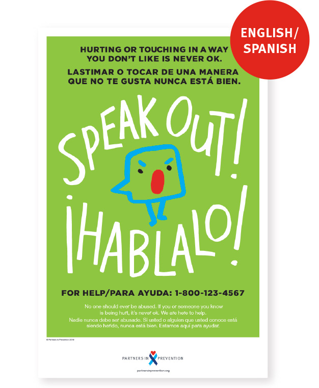 Speak Out! Poster