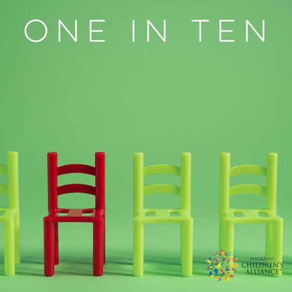 one in ten 3 children's chairs