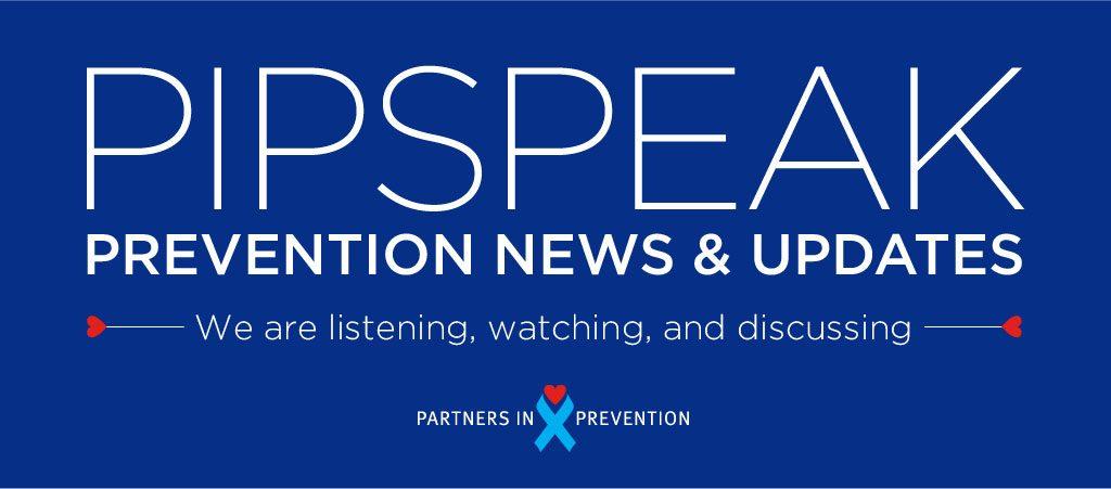 pipspeak prevention news graphic