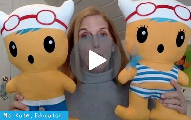 Ms. Kate Educator Video Still